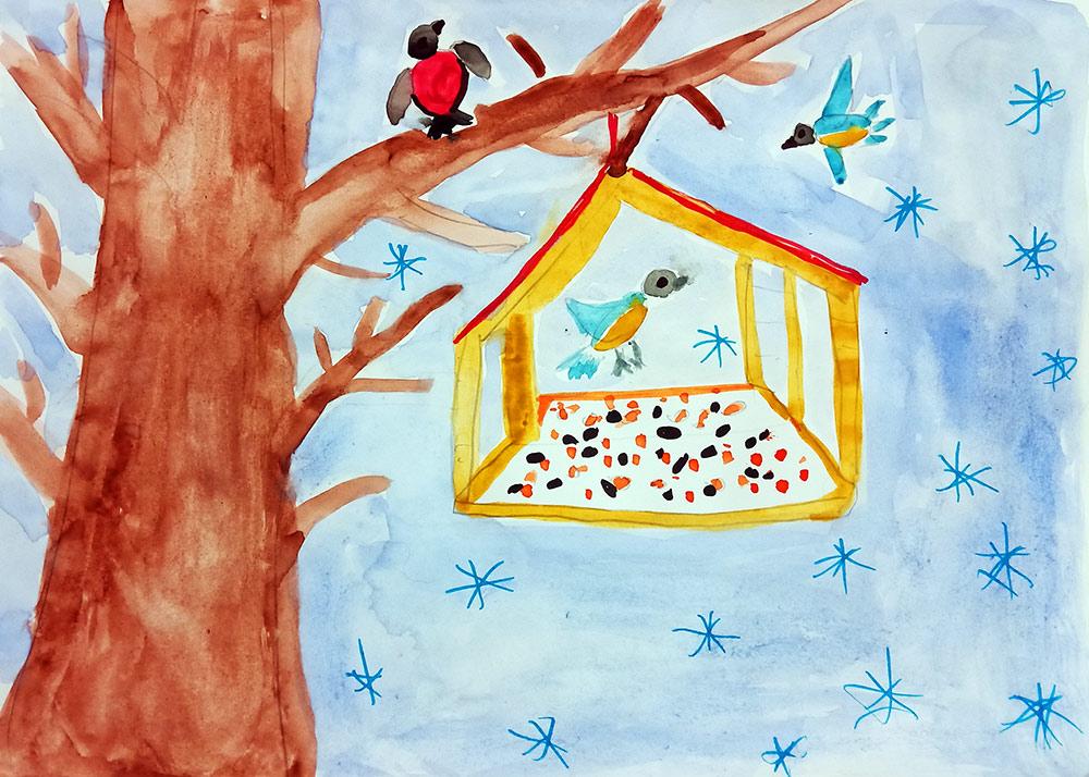 Защита птиц картинки в садик